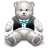 Gift Light Grey Bear Icon 48px png