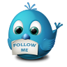 Twitter Follow Me Icon 96px png