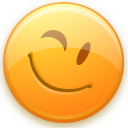 Wink Icon 128px png