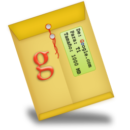 Gmail Sobre G Icon 256px png