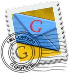Gmail Stamp Icon 256px png