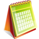 Calendar Icon 128px png
