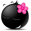 Girl Icon 128px png
