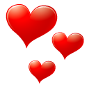 Red Heart Icon icon