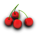 Cherries Icon 128px png