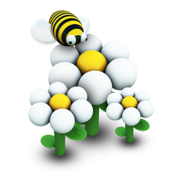 Busy Bee Icon 256px png