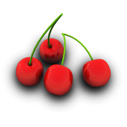 Cherries Icon 256px png
