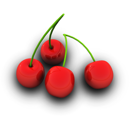 Cherries Icon 512px png
