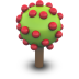 Apple Tree Icon 72px png
