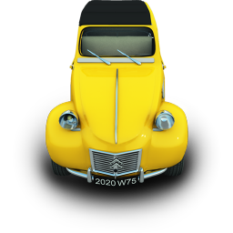 2CV Icon 256px png