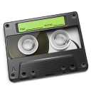 Cassette Green Icon 128px png