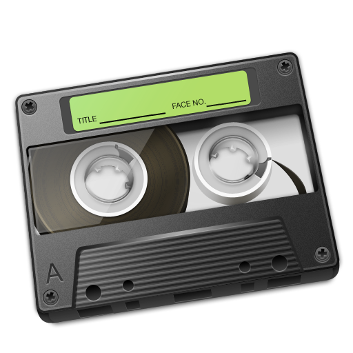 Cassette Green Icon 512px png