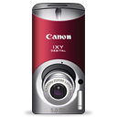 Canon IXY DIGITAL L3 (red) Icon icon