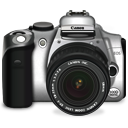 Canon EOS 300D Icon 128px png