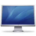 Cinema Display (blue) Icon 128px png