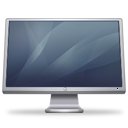 Cinema Display (graphite) Icon 128px png