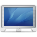 Cinema Display Old Front (blue) Icon icon