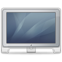 Cinema Display Old Front (graphite) Icon icon