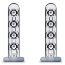 Harman Kardon SoundSticks II + Speakers (only) Icon 128px png