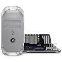 Power Mac G4 (quicksilver Open) Icon 128px png