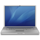 Power Book G4 (blue) Icon 128px png