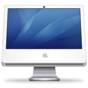 iMac (blue) Icon 128px png