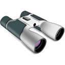 Binoculars Icon 128px png