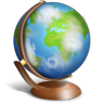 Globe Icon 96px png