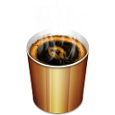Coffee (hot) Icon icon
