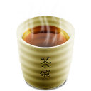 Cup 2 (tea hot) Icon 128px png