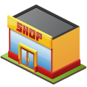Retail Shop Icon 128px png