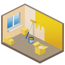 New Room Icon 256px png