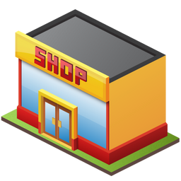 Retail Shop Icon 256px png