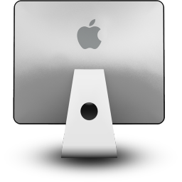 iMac Back Icon 256px png