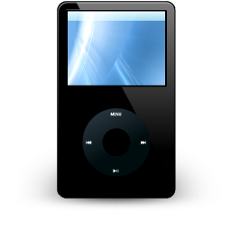 iPod Black Icon 256px png