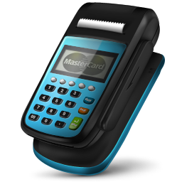 Pos Machine Master Card Icon 256px png