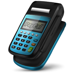Pos Machine Paypal Icon 256px png