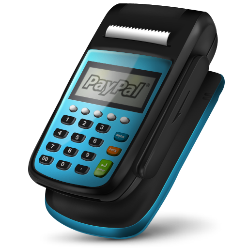 Pos Machine Paypal Icon 512px png