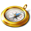 Compass Icon 128px png