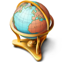 Globe Icon 128px png