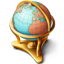 Globe Icon 64px png
