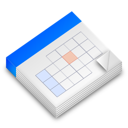 Calendar Icon 256px png