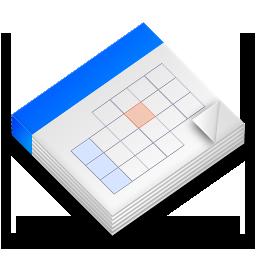 Calendar 3d Icon Png | Calendar Template 2016