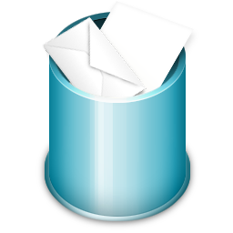 Trash Full Icon 256px png