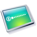 Computer Cool Icon icon