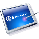 Tablet Blue Icon icon