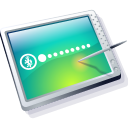Tablet Cool Icon icon