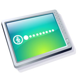 Computer Cool Icon 256px png