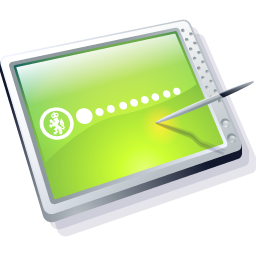 Tablet Lime Icon 256px png