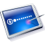 Tablet Blue Icon 64px png